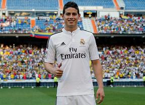 El Real Madrid ficha a James Rodríguez