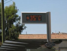 Los termómetros rondarán este martes los 36 grados