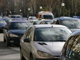 Un accidente en la Calle 30 ralentiza el tráfico en la capital