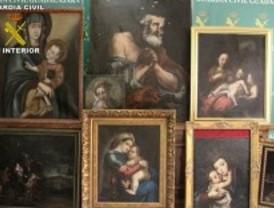 Detenido el madrileño que robó pinturas en Pastrana