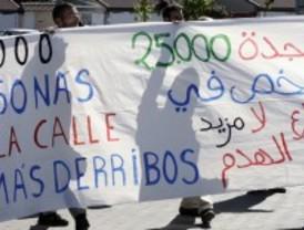 Stop Derribos intenta evitar el deshaucio de varias casas ilegales en la Cañada Real