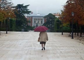 Lluvia en el Retiro