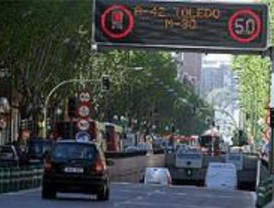 Protesta por el aplazamiento de la prolongación del túnel de Santa María de la Cabeza