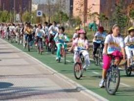 Inaugurado el primer tramo del carril bici de Alcorcón