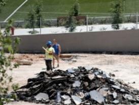 El polideportivo Torrespaña, cerrado 'sine die'