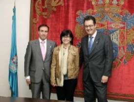 Otaola visita el Ayuntamiento de Leganés para estrechar la colaboración entre ambas instituciones