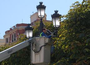Admiten un recurso contra la adjudicación del contrato de alumbrado de Madrid