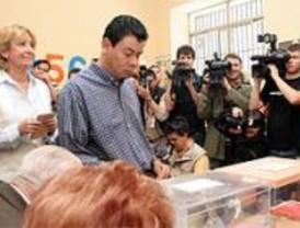 El voto de los candidatos a la Comunidad de Madrid