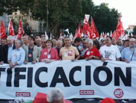 La huelga general no logró parar Madrid