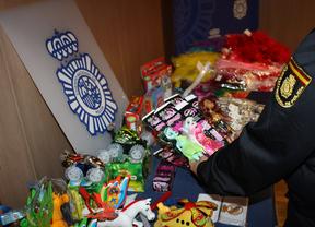 La Policía se incauta más de 200.000 juguetes peligrosos