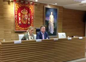 Cristina Cifuentes y Juan Soler