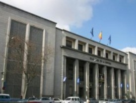Pintores y escultores nacionales, en la Casa de la Moneda