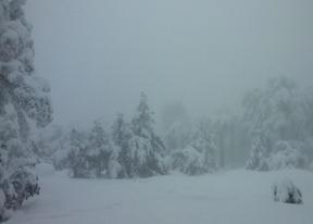 Alerta por nieve en la sierra y fuertes vientos en la región
