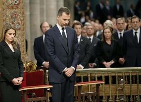 Dolor por las víctimas en el funeral de Santiago