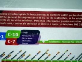 Renfe garantiza hasta el 73% de los AVE y el 75% de los Cercanías