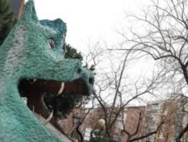 El dragón seguirá custodiando La Elipa