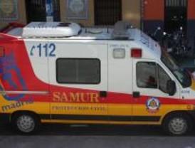 Tres personas resultaron heridas de levedad en dos colisiones en la M-11