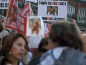 Manifestación del entorno de Marta del Castillo para exigir cadena perpetua