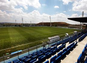Estadio Alfredo DiSttefano, en Valdebebas