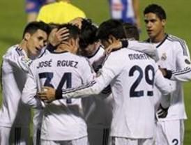 El Real Madrid golea al Alcoyano con su 'cara B'