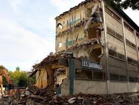 Derribado el Instituto Santamarca