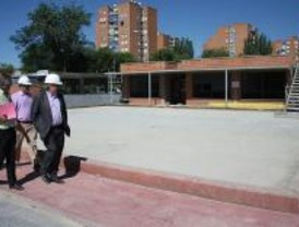 La nueva escuela infantil de Polvoranca en Alcorcón estará lista en septiembre