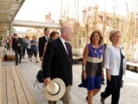 Inaugurados dos nuevos accesos que unen Madrid Río y Matadero