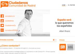 Ciudadanos Madrid abre su proceso de primarias