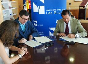 Javier Font y José Ignacio Fernández firman el convenio