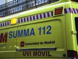 Tres heridos tras una colisión en la M-505