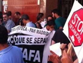 Ocho 'okupas' desalojados en la calle Arniches