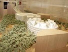 Hiedra artificial cubrirá el Juzgado de lo Contencioso del nuevo Campus