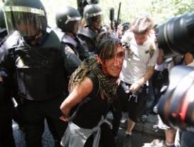 Diez detenidos en la marcha minera, libres