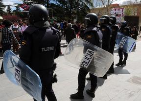 Primera jornada de huelga estudiantil en Ciudad Universitaria