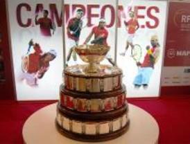 La Copa Davis 2008, expuesta en Madrid hasta el 21 de enero