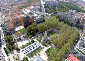 El Ayuntamiento propone soterrar el tráfico bajo la plaza de España