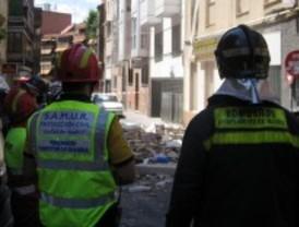 Cinco heridos leves en una aparatosa explosión en una vivienda en Tetuán