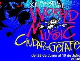 El XIII Festival de Músicas del Mundo llega a Getafe