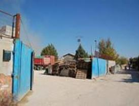 Se reducen los derribos y desalojos en la Cañada Real Galiana