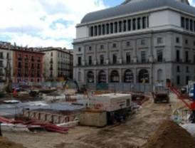 Las obras de Ópera acabarán en diciembre