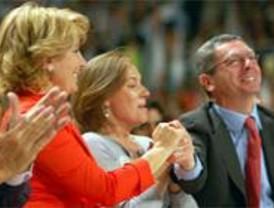 Gallardón acusa a Zapatero de 'no pisar Madrid' durante la campaña electoral