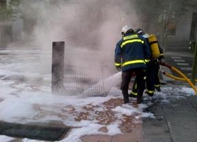 Bomberos sofocan el incendio