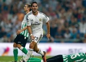 Isco protagoniza la remontada del Madrid ante el Betis