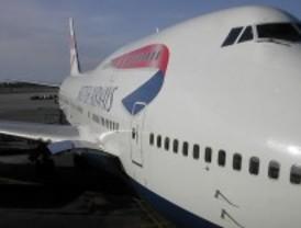 Cancelados los vuelos para este domingo de British Airways
