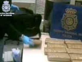 Cuatro detenidos por tráfico de drogas en Madrid y distribuirla por correo postal