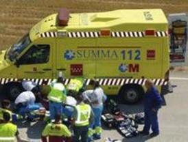 Muere un hombre al salirse el vehículo que conducía de la A-1, en Alcobendas