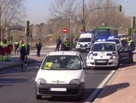 Herido grave tras ser atropellado en la avenida de Logroño