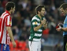 El Atlético desperdicia una hora de superioridad numérica ante el Sporting