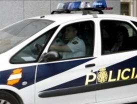 Detenido después de chocar con un coche robado tras una persecución policial