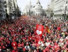 Los antiabortistas ocupan las calles de Madrid este sábado